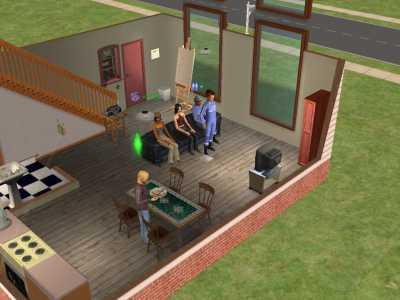 micville sims 2 fotostories kunst und liebe. Black Bedroom Furniture Sets. Home Design Ideas