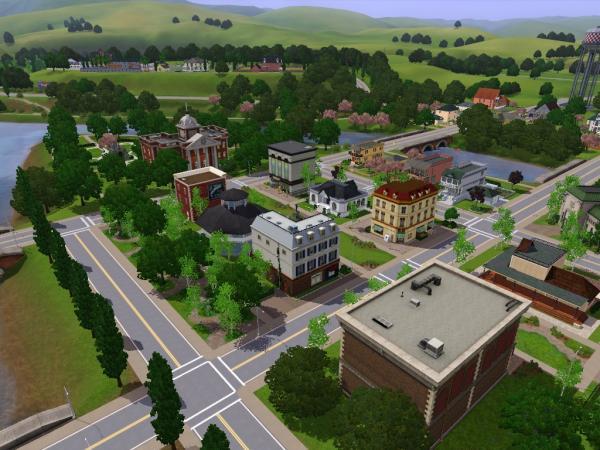 MICVILLE :: Sims 3 > Nachbarschaften > Riverview - private