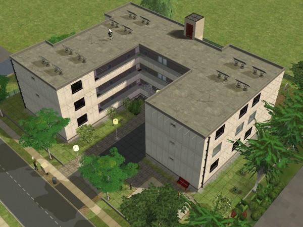 Nachbarschafts doku bzw fotostories geschichten aus - Sims 4 dach bauen ...